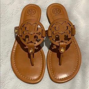 Tory Burch Miller Sandals Sz 7 M